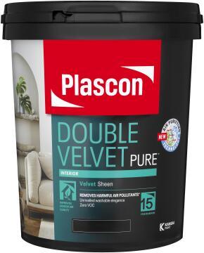 Double Velvet white PLASCON 20 litres