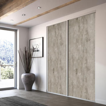Allure sliding door cement 250X62 cm