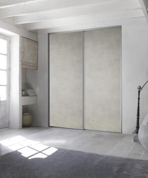 Allure sliding door mineral canvas 250X62 cm