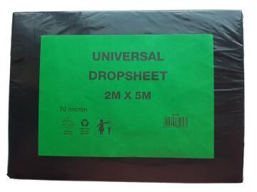 Drop Sheet Plastic K&K 2X5 70 micron