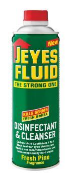 Disinfectant fluid JEYES pine fluid 250ml