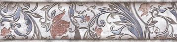 Listello Ceramic Tile Fleur Cool 6X25cm