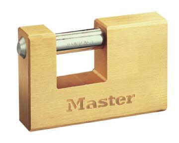 Padlock insurance brass 76mm master lock
