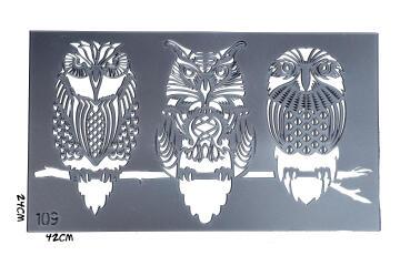 Stencils GRANNY B'S owls