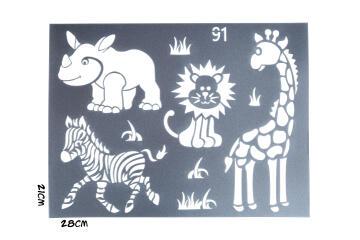 Stencils GRANNY B'S safari