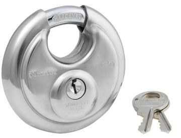 Discus lock stainless steel body 70mm fort knox