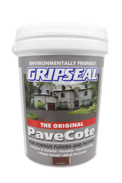 Paving paint GRIPSEAL Pavecote Brown 20L