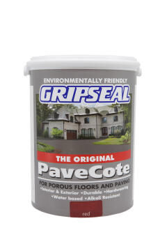 Paving paint GRIPSEAL Pavecote Red 5L