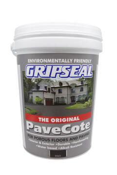Paving paint GRIPSEAL Pavecote Black 20L