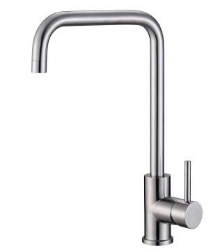 Kitchen tap Saturn cubestainless steel mixer Franke