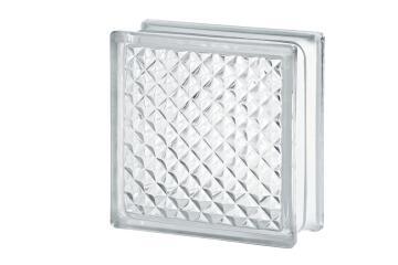 Glass Block Clear Inca