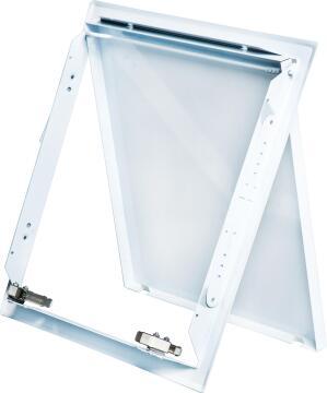 Ceiling Trap Door 600mm x 600mm Steel White