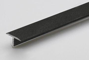 Profile decotrim tialu aluminium powder coated london smoke finish 900x14x9mm arcansas