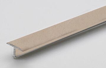 Profile decotrim tialu aluminium powder coated beige finish 900x14x9mm arcansas
