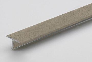 Profile decotrim tialu aluminium powder coated concrete finish 900x14x9mm arcansas