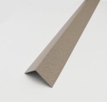 Profile equal corner powder coated aluminium concrete 1000x20x20mm arcansas