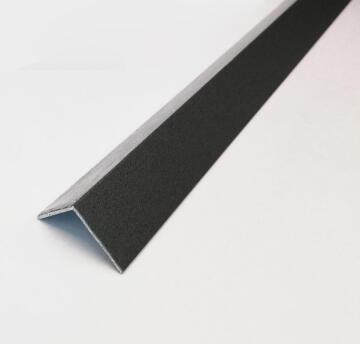 Profile equal corner aluminium powder coated london smoke finish 2600x15x15mm arcansas