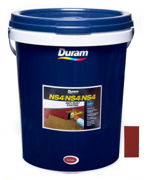 Anti-Rust Coating DURAM NS4 Red Oxide 20L
