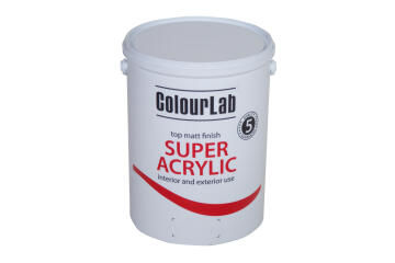 Multi-surface matt Paint COLOURLAB super acrylic cloudy grey 5 liters