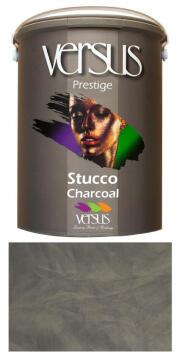 Interior paint VERSUS Prestige Venetian stucco charcoal base cote 5L