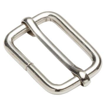 Adjustable strap buckles nickel plated 25mm 2pc standers
