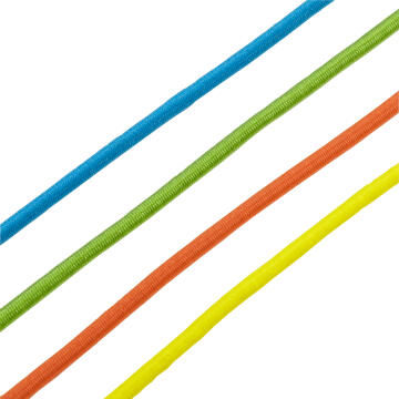 Bungee cords polyethylene assorted colours 4x250mm 1.75kg 20pc standers