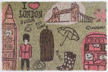 Doormat VBC Bleach London City Printed 40x60cm