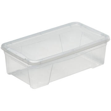 Clear Plastic Box 8,7L