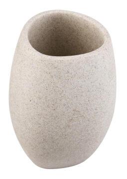 Tumbler poly resin SENSEA Gypso Stone
