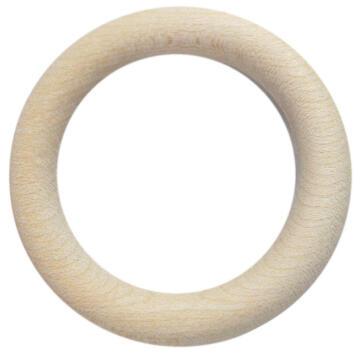 Curtain Rings INSPIRE D28mm System D Light Oak x10