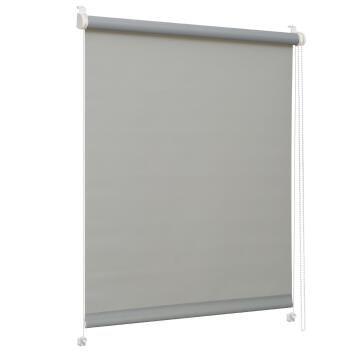 OPAQUE ROLL/BLIND CLIP GREY 57X160
