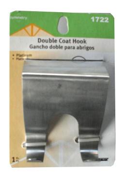 DOOR HANGER 2 HEAD STAINLESS STL