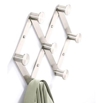 ADJUSTABLE WALL HANGER STAINLESS STL