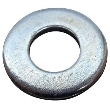 Flat washer medium middle zinc plated D10mm 80pc box standers