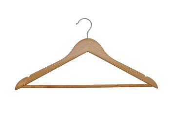 8pc Wooden hanger Spaceo