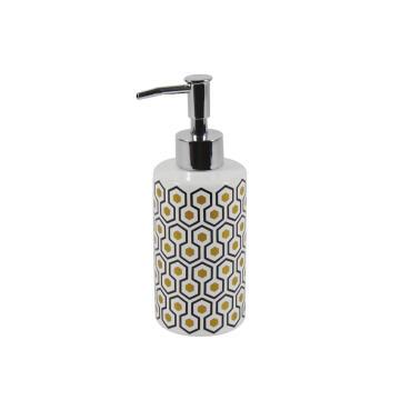 Soap dispenser ceramic SENSEA Carlton white