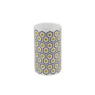 Tumbler ceramic SENSEA Carlton white