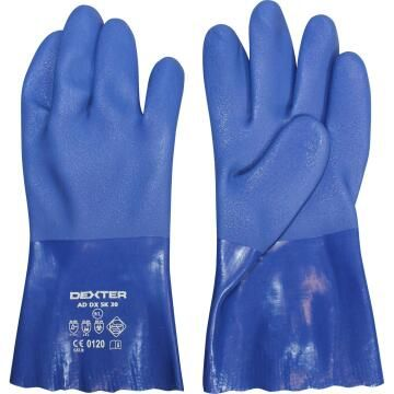 Glove DEXTER Unsupported PVC With Grip