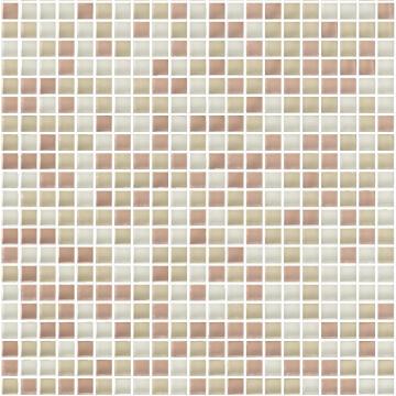 Mosaic Glass Tile ARTENS Tonic Ivory 30x30cm