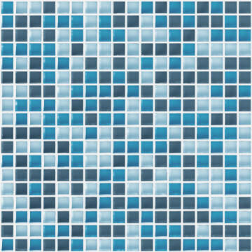 Mosaic Glass ARTENS Tonic Blue 30x30cm