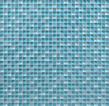 Mosaic Glass Tonic Blue ARTENS 30x30cm