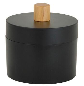 Cotton box plastic SENSEA Scandi black