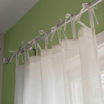 Sheer Curtain Derry Pure White 140x240cm
