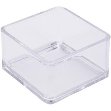 Organizer puzzle cosmetic box acrylic SENSEA transparent 7.6X7.6X5CM